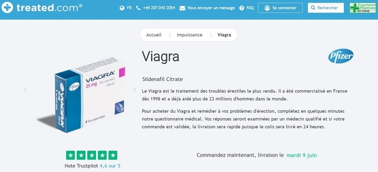 Viagra sur Treated