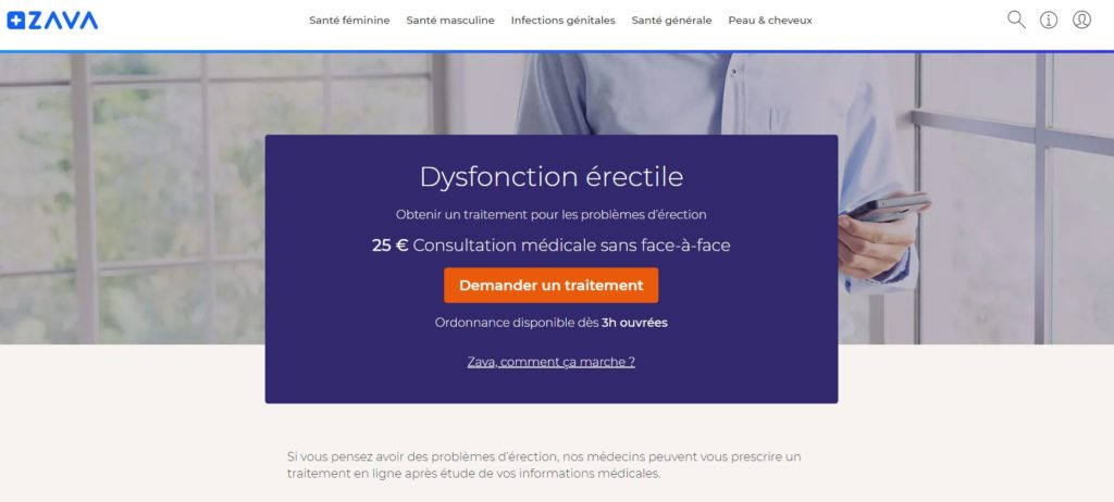 Viagra sur Zavamed France